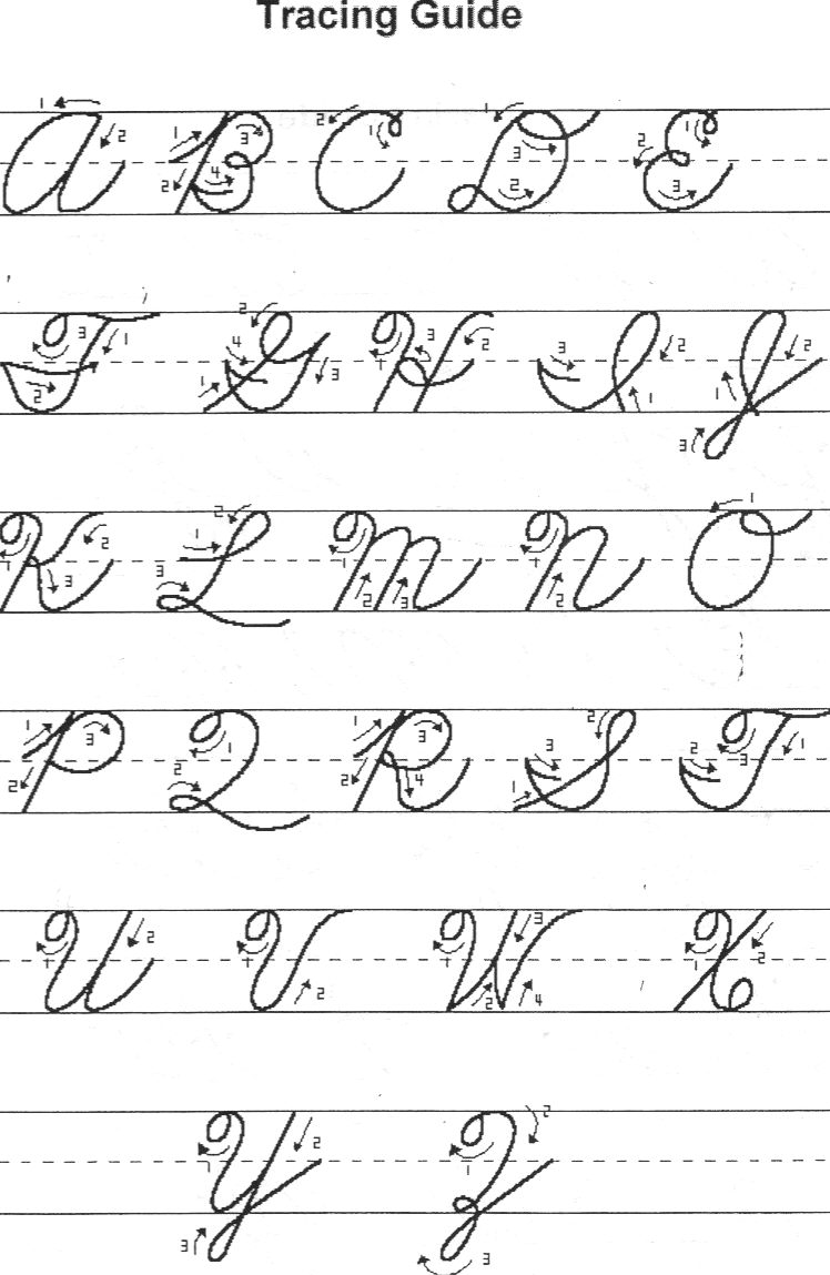 Worksheet Print To Cursive cursive alphabet print out acbn letters 748 x 1149
